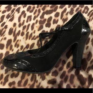 Vintage Style Pinup Tstrap Heels